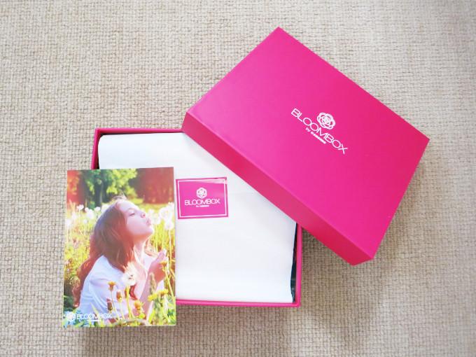 2019年2月のブルームボックスの箱とカード画像