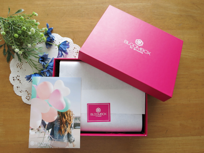ブルームボックス 2020年3月の箱とカードの画像