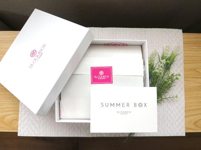 サマーボックスの箱と封入されていたカード