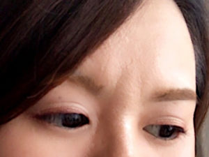 シスターアンのペンシルアイライナーをアイシャドウとして使用した目元の画像